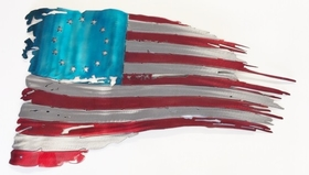 SPS-BRF1    Betsy Ross American Flag Sign