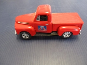 LIB-FO48    1948 FORD TRUCK F-1  LOCKING COIN BANK
