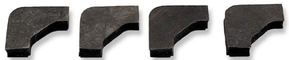 DAN-1279 1939-1968 Battery Rubber Hold-Down Pads