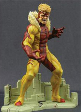 Jim Lee's Modern Era Sabretooth Statue