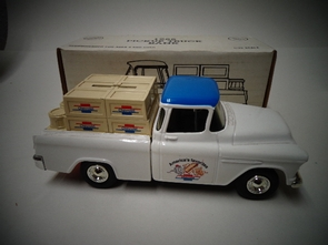 ERT-3778    1955 CHEVY TRUCK   LOCKING COIN BANK