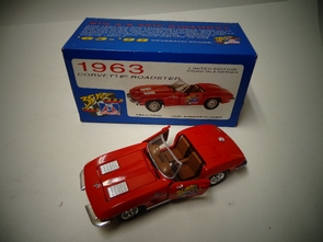 "APC-6398    BIG ""A"" AUTOPARTS 35th Birthday Car Model 1963 CORVETTE"
