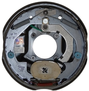 Rockwell American PP4701    3500 lb AXLE ELECTRIC BRAKE -COMPLETE BACKING PLATES