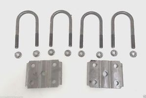 """Rockwell American -4202HD   2-3/8"""" U-BOLT KIT FOR 3.5K ROUND AXLE"""