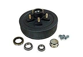 Rockwell American -PP 94545   ELECTRIC BRAKE HUB ASSEMBLY KIT 5 on 4.5 for 3.5K axle