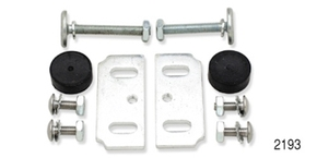 DANCHUK -2193  1955-57 WINDOW STOP SET,INSIDE TOP