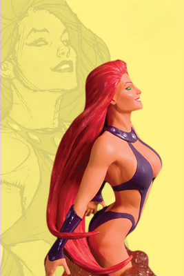 DC Direct Women of DC Universe-STARFIRE Bust
