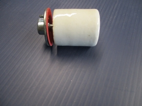 "V66-UNIVERSAL PORCELAIN LIGHT SOCKET 1/2"" GAS PUMP"