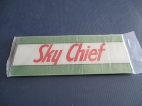 APC-AD10    TEXACO SKY CHIEF  AD GLASS
