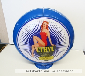 APC-BLETHGRL     ETHYL 50'S PIN-UP GLOBE 13.5""