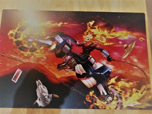 Fan Art  Print of  the GHOST RIDER by WAS Illustrations