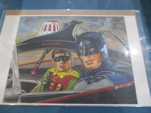 Art  Print of the Dynamic Duo by Sid Lajunesse