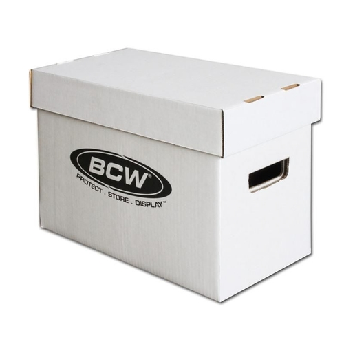 BCW- 1-BX-SHORT   Short Comic Book Box