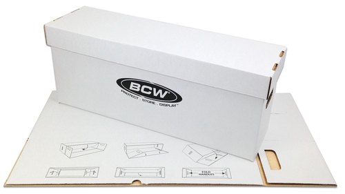 BCW- 1-BX-Long  Long Comic Book Box